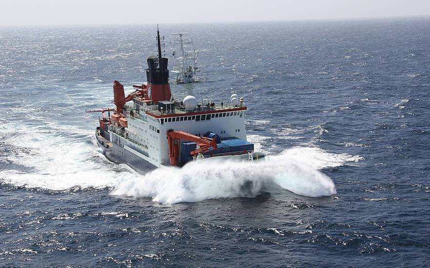 Dt Forschungsschiff